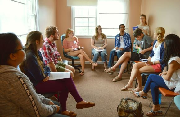 The Tribe and UVa students discuss metaphors for autism.